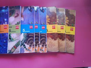 libros de 5 señorio muriel.comprados × ese curso