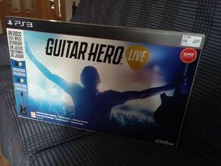 Gutar Hero live PS3