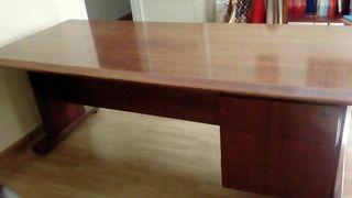 Conjunto Mesa despacho + Armario bajo