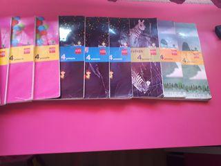 libros de 4 señorio muriel. de segunda mano