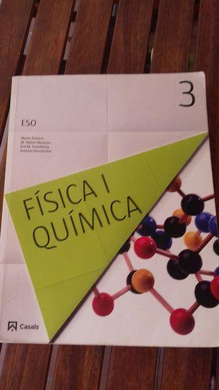 libro física y quim.3r ESO. ed.Casals