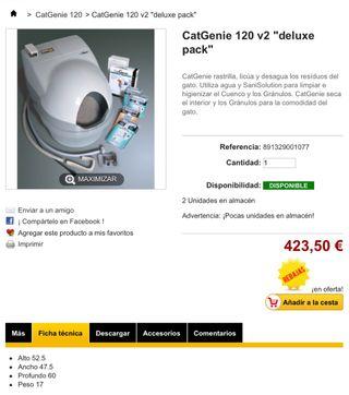 """CatGenie 120 v2 """"deluxe pack"""