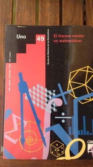 libro El fracaso escolar en matemáticas. ed.Graó