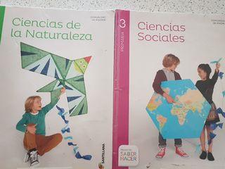 libros de texto de 3° primaria