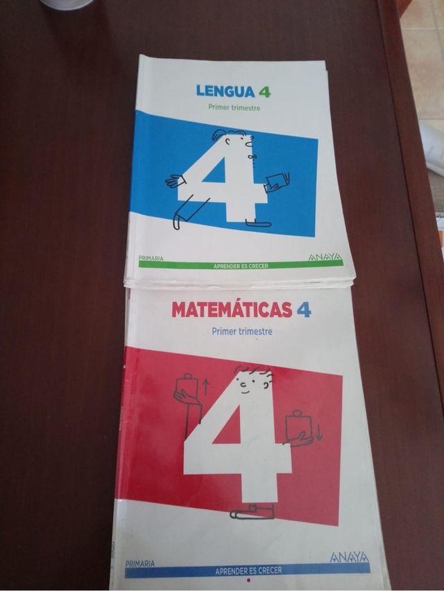 Libros cuarto primaria ANAYA de segunda mano por 7 € en Navalcarnero ...