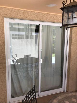 Puertas correderas de alumino