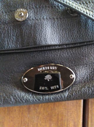 bolso mujer Bison Mulbery