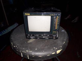 televisor chico con transformador