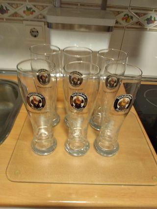 Vasos cerveza Franziskaner