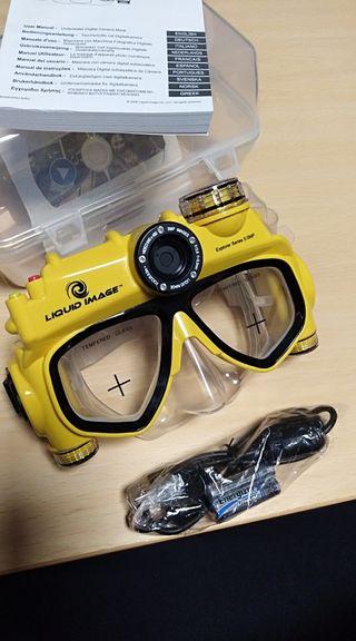 gafas de buceo con cámara