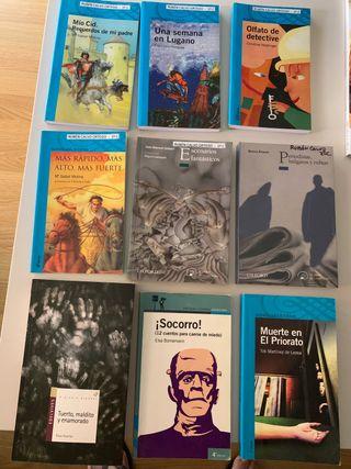 Libros de lectura. Nivel 1 -2-3 ESO