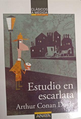 Estudio en escarlata. Arthur Conan Doyle