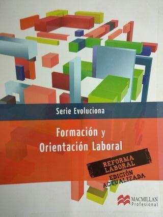Libro Formación y Orientación Laboral MacMillan