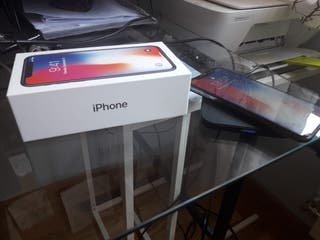 Iphone x nuevo y garantia,64gb