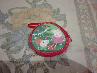 Monedero infantil Pepa Pig