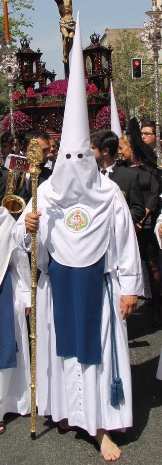 Tunica nazareno de los Negritos