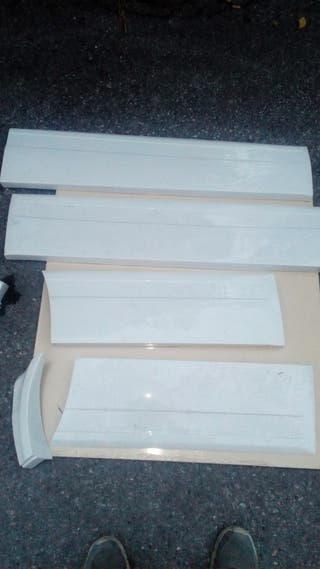 kit taloneras bmw e30 4 puertas de fibra de vidrio