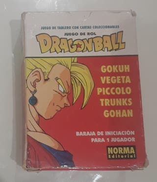 Baraja de cartas Dragon Ball de rol