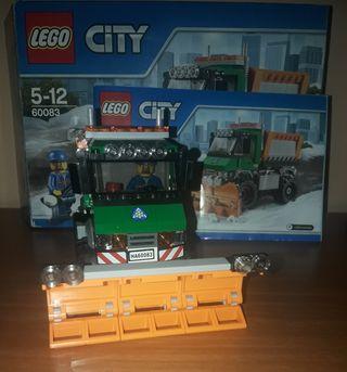 Lego 60083 Quitanieves.
