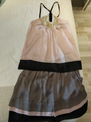 conjunto de falda y top