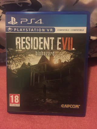 Juego Ps4 Resident Evil 7