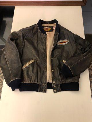 Cazadora bomber Harley Davidson vintage talla L