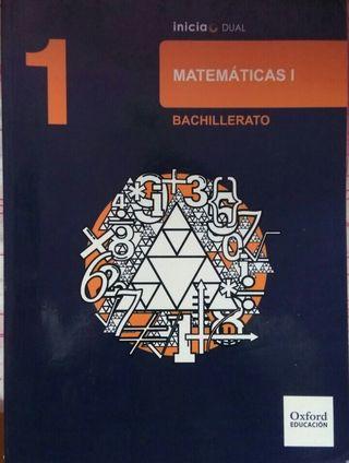 Libro de matemáticas de 1 bachillerato