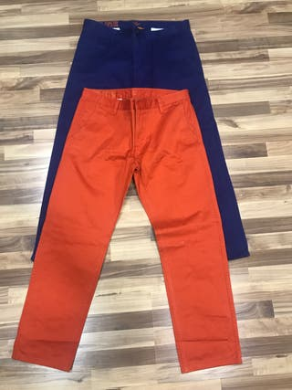 Pack de 2 pantalones Dockers alpha khaki slim w36