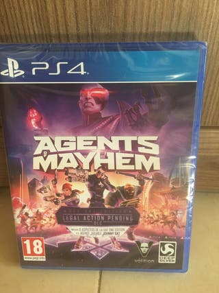 Agents of mayhem legal action pending ps4