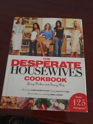 nuevo libro cocina de Mujeres Desesperadas