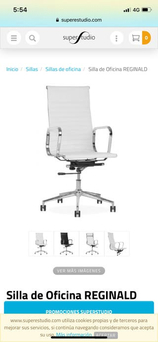 Silla escritorio / oficina giratoria Moderna