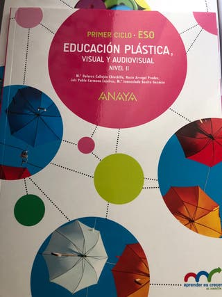 Anaya-Plastica 3 ESO Libro