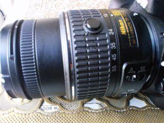 Objetivo Nikon 18-55 VR II