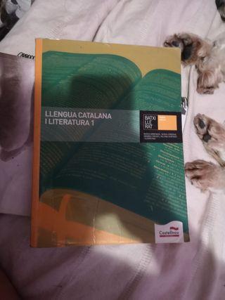 libro llengua catalana i literatura 1