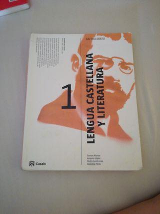 libro castellano primero de bachillerato