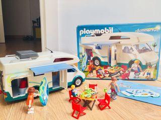 Caravana playmobil 6671