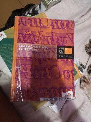 libro lengua castellana y literatura 1