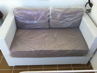 Chollo!, Sofa dos plazas para jardin