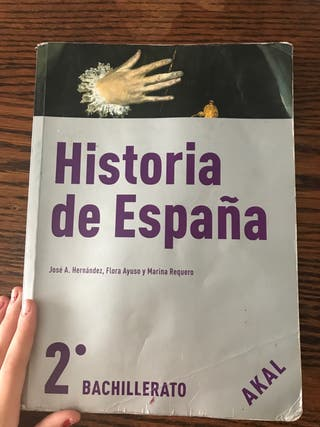 Historia de España 2°Bach