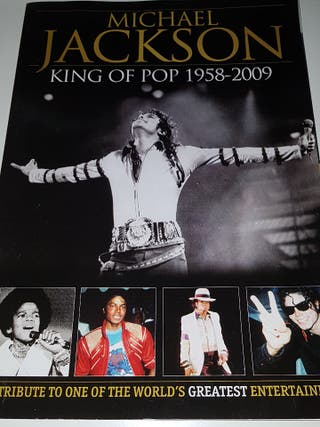 Michael Jackson revista king of pop