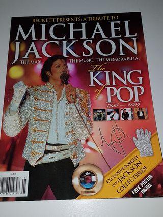 Michael Jackson revista Beckett