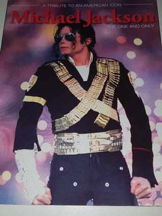 Michael Jackson libro revista the one and only
