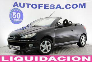 Peugeot 206 CC 1.6 110cv Coupe Cabrio 2p