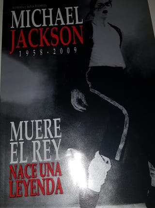 Revista Michael Jackson Hombres y Mitos