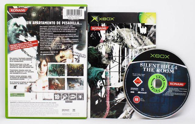 Silent Hill 4 The Room XBOX PAL España de segunda mano por
