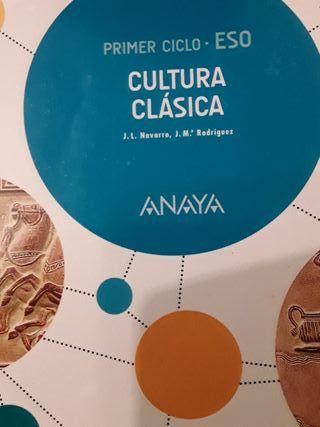 Cultura Clásica 2º ESO editorial Anaya