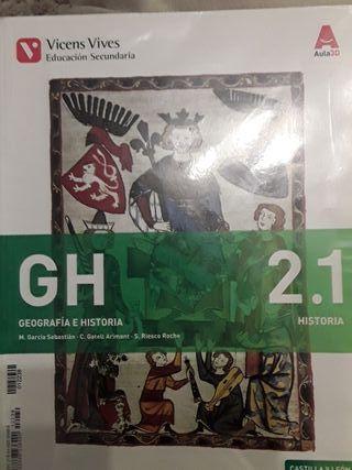 Geografía Historia 2º ESO Vicens Vives