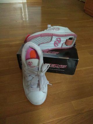 Zapatillas con rueda Heelys 34