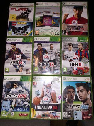 9 juegos Xbox 360