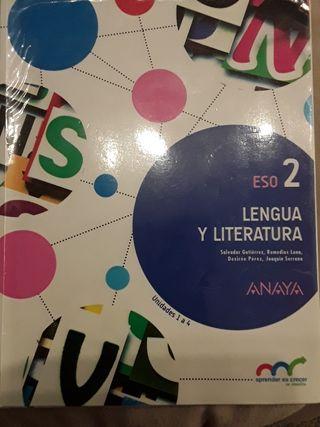 Lengua Literatura 2º ESO Anaya